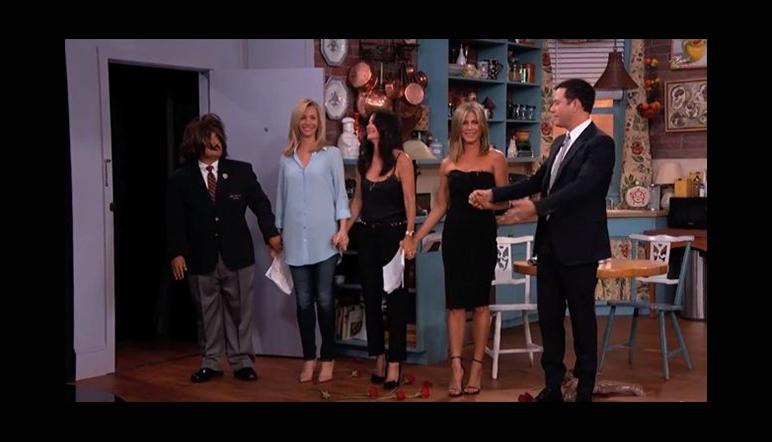 Mirá el regreso de Friends