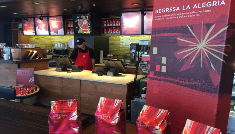 Starbucks abre tienda en La Sabana