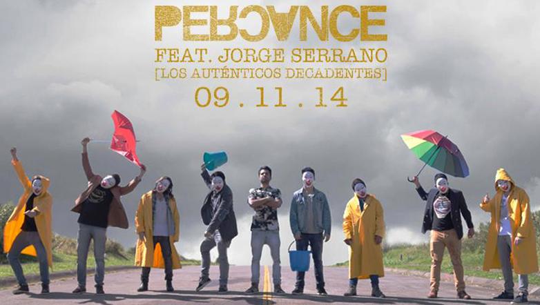 Percance estrena video junto con Jorge Serrano de Los Auténticos Decadentes