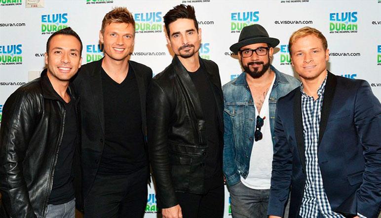 Los Backstreet Boys preparan nuevo disco