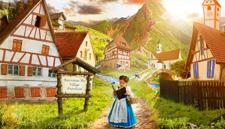 'La Bella y la Bestia', real: un papá cumple el sueño de su hija