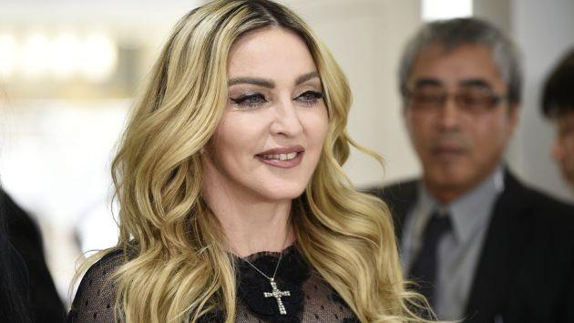 El peculiar disfraz de Madonna de 'La Bella y la Bestia'