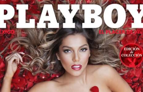 La hija de Alejandra Guzmán se desnuda para 'Playboy'