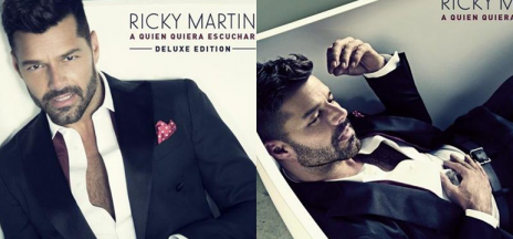 Ricky Martin revela la portada de su nuevo disco