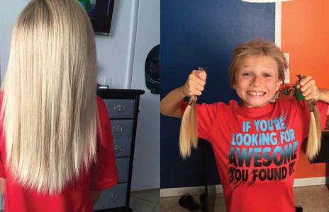 Niño soportó 2 años de burlas por dejar crecer su cabello