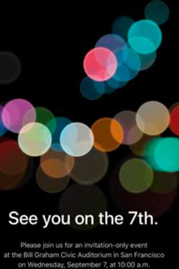 Apple presentará nuevo iPhone el 7 de setiembre