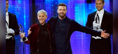 Los People's Voice Awards tuvieron una reina: Ellen DeGeneres