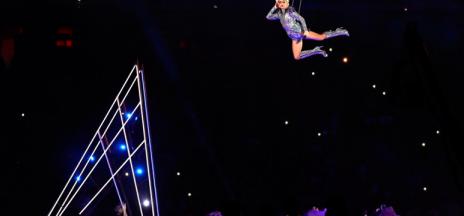 El gran salto de Lady Gaga en la Super Bowl