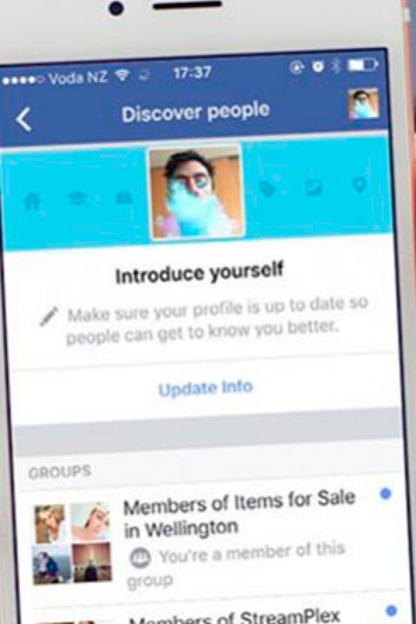 Facebook le hace la competencia a Tinder