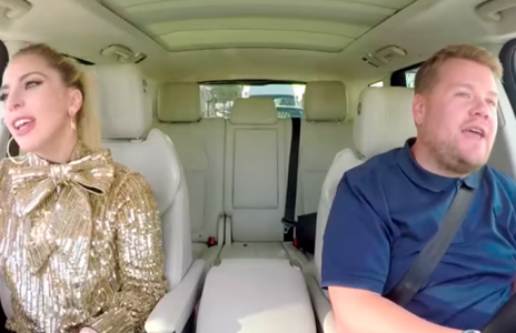 Lady Gaga se atreve con el 'Carpool Karaoke' de James Corden